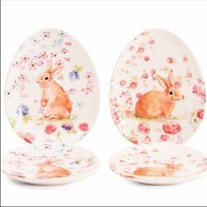 Bunny Plates 4pcs.